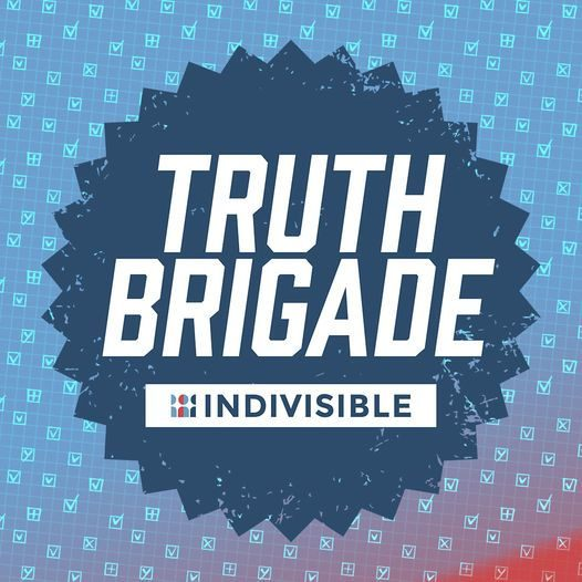 Indivisible Truth Brigade logo
