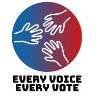 Every Voice Every Vote logo