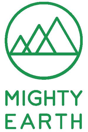 Mighty Earth logo