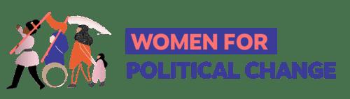Women for Political Change logo
