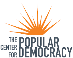 The Center for Popular Democracy logo