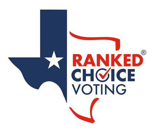 Ranked Choice Voting for Texas logo