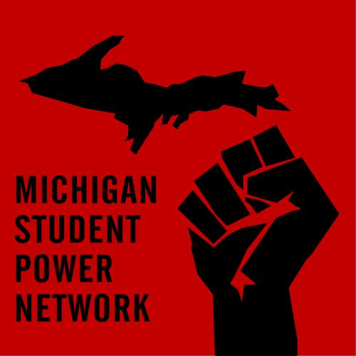 MI Student Power logo