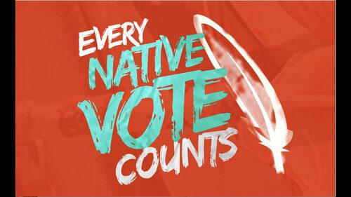 Every Native Vote Counts logo
