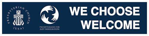 we choose welcome-pcusa logo